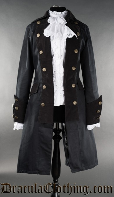 Long Female Pirate Coat