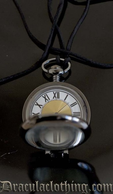 Magnifier Necklace Watch