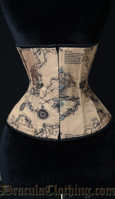Map Corset