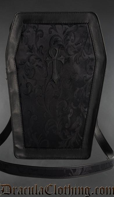 Onyx Big Ankh Coffin Bag