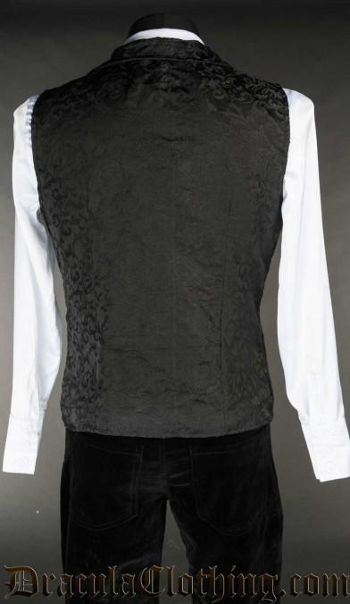 Onyx Double Buttoned Vest