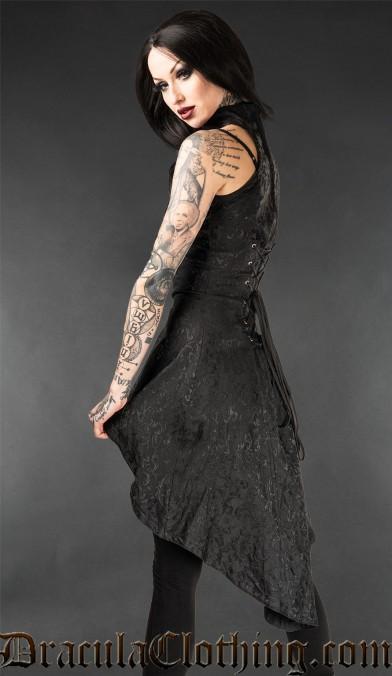 Onyx Flow Dress