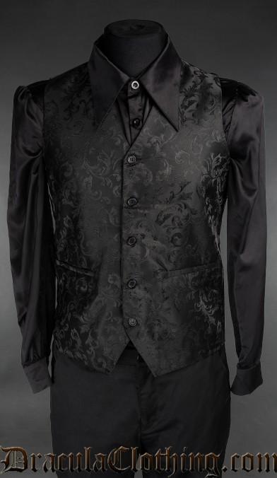 Onyx Groom Vest