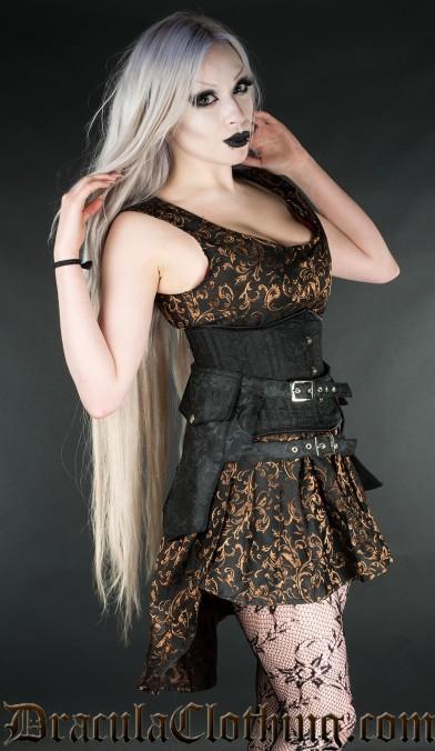 Onyx Skirt Pockets