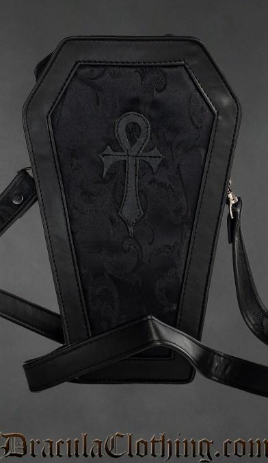 Onyx Ankh Coffin Bag