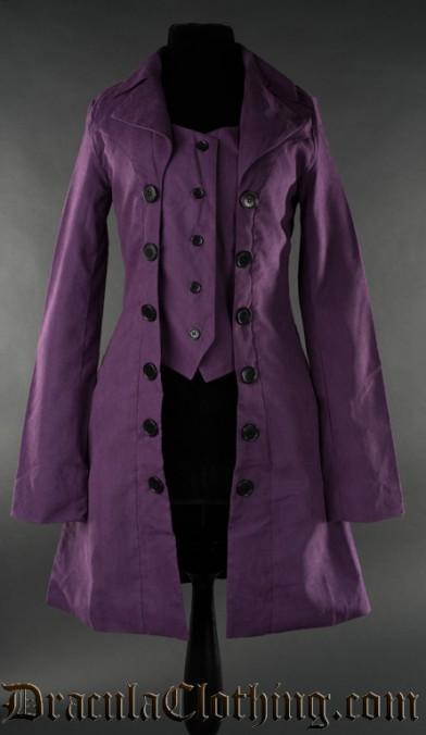 Purple Pirate Coat