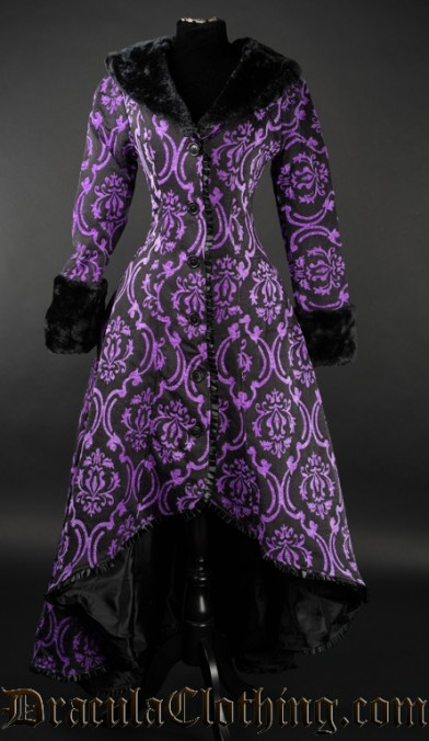 Purple Evil Princess Coat