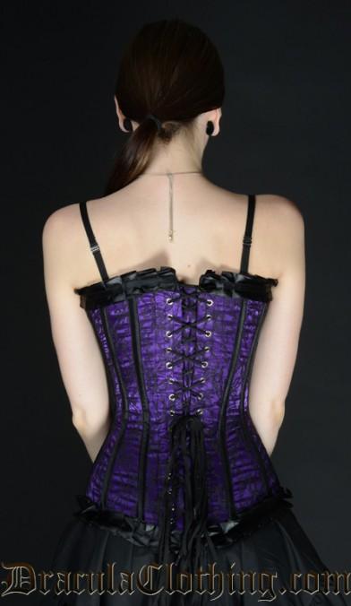 Purple Romantic Overbust