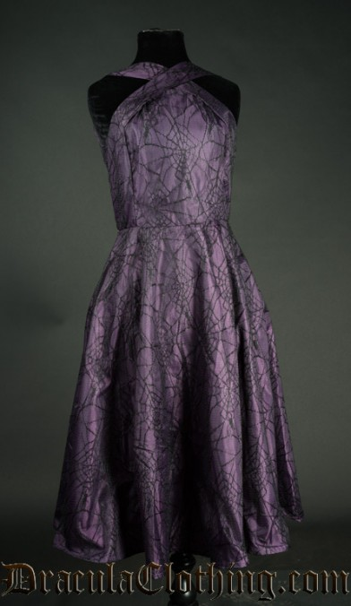 Purple Spider Dress