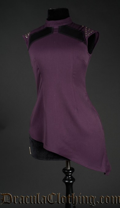 Purple Spiked Tunic