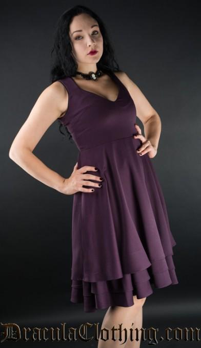 Purple Three Layer Dress