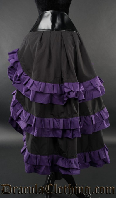 Purple Vex Skirt
