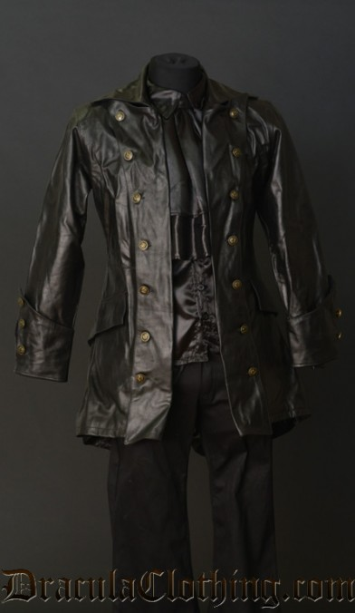 Real Leather Pirate Jacket
