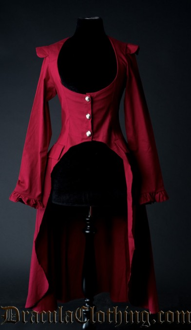 Red EGA Coat