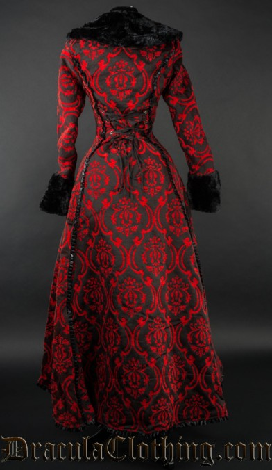 Red Evil Princess Coat