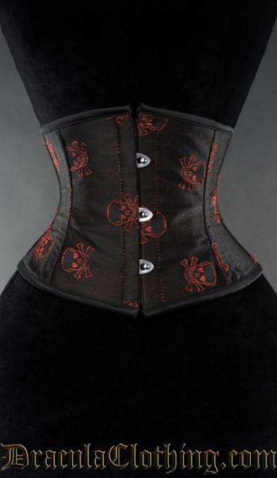 Red Jolly Waist Cincher