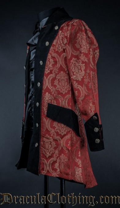Red Royal Pirate Jacket