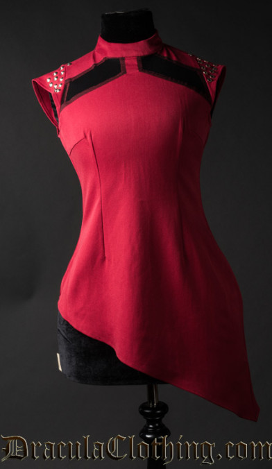 Red Spiked Tunic - Old Sizes