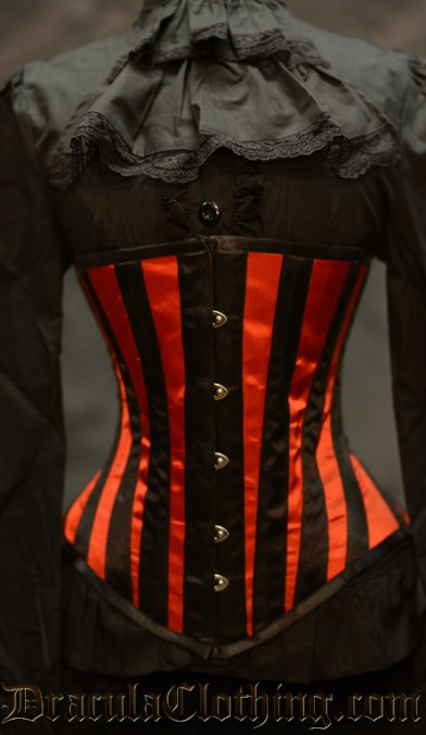 Red Striped Corset