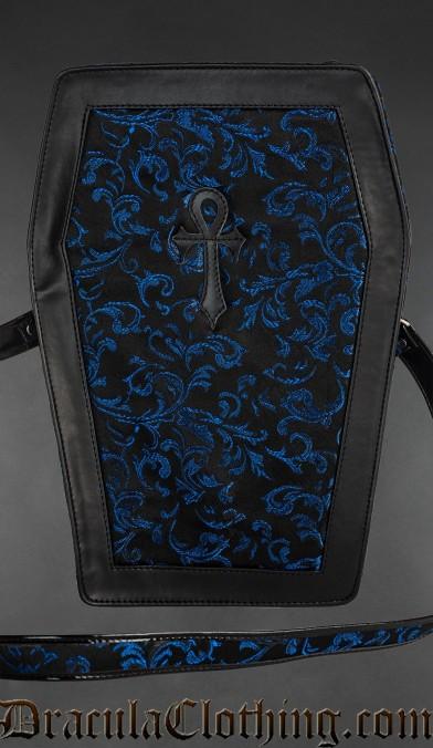Sapphire Big Ankh Coffin Bag