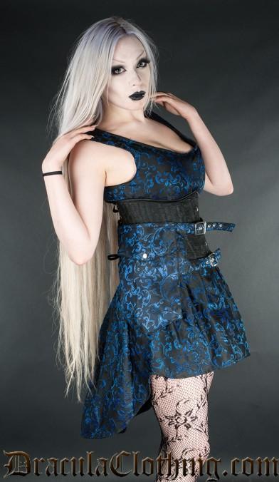Sapphire Skirt Pockets