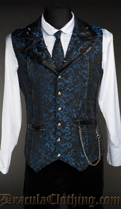 Sapphire Spiked Vest