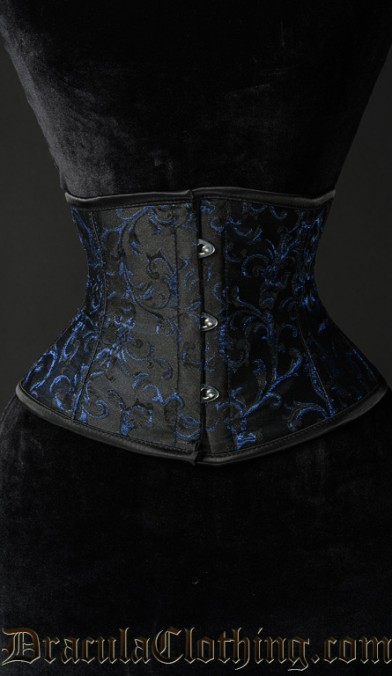 Sapphire Waist Cincher Corset