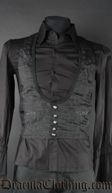 shiny waistcoat
