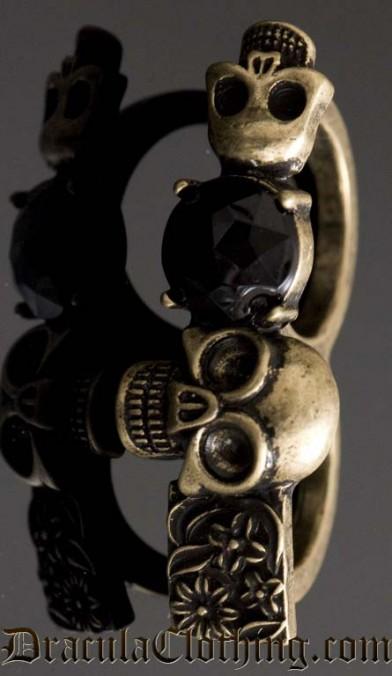 Skeleton Knuckle Duster Ring