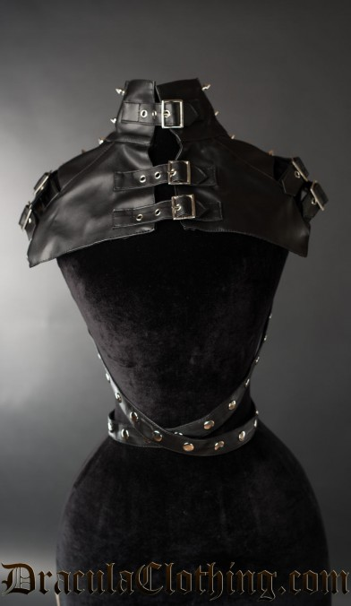 Spiked Buckle Neck Piece