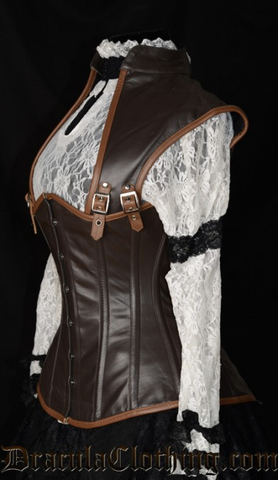 Steampunk Apocalyptic Corset, size 22