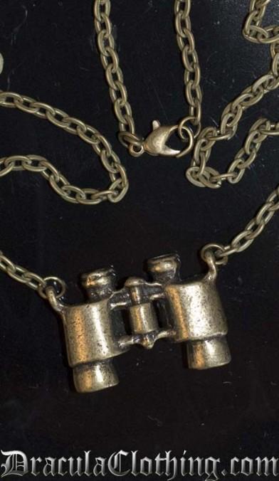 Steampunk Binoculars Necklace