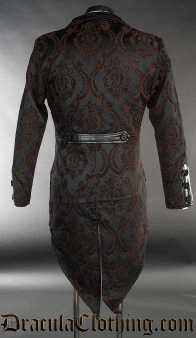 Steampunk Brocade Tailcoat