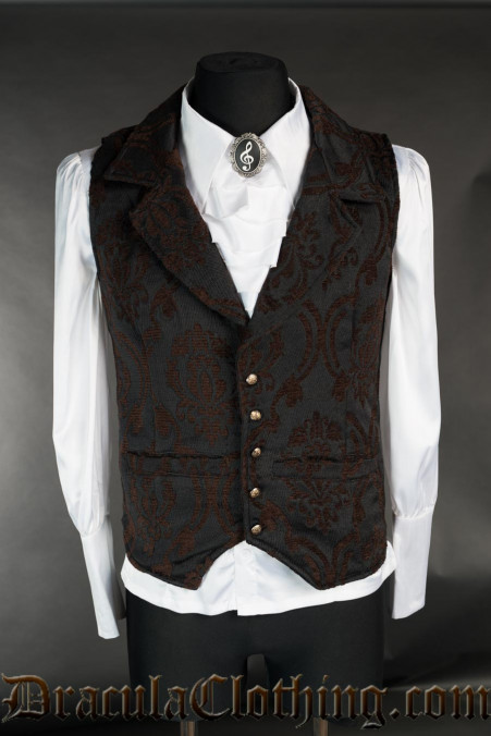 Steampunk Brocade Waistcoat