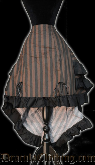 Steampunk Layer Bustle Skirt