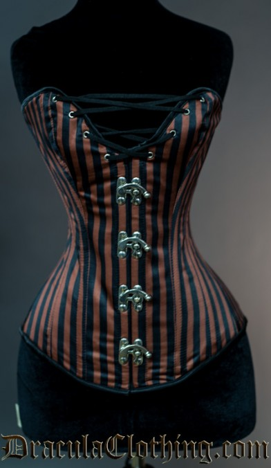 Steampunk Cleavage Clasp Corset