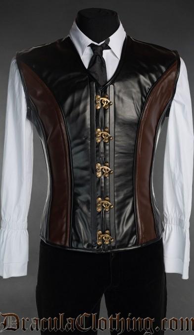 Steampunk Clasp Corset Vest
