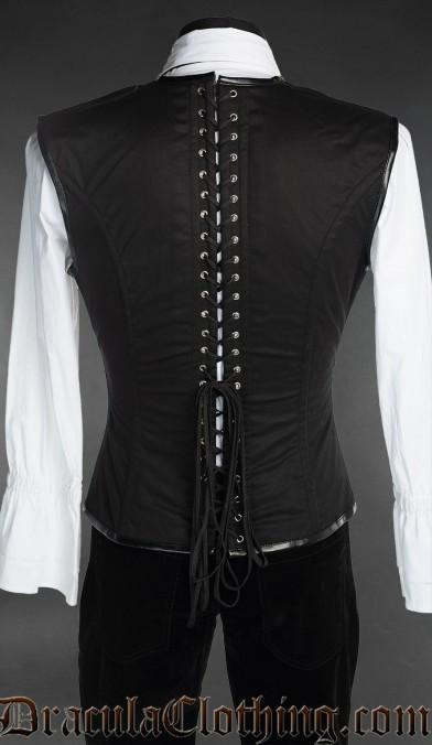 Steampunk Cotton Corset Vest