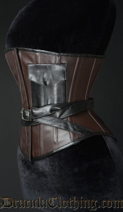 Steampunk Faux Pocket Corset