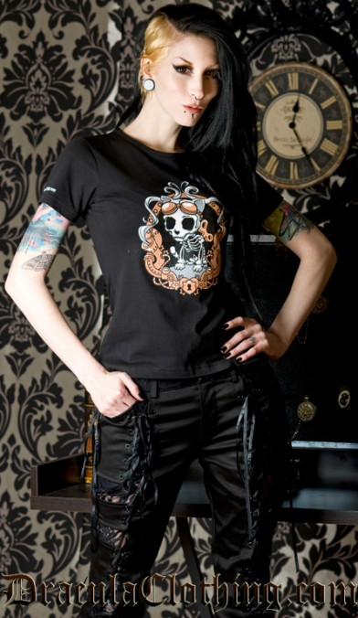Steampunk Kitty T Shirt