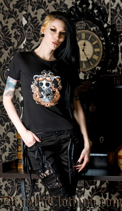 Steampunk Kitty T Shirt