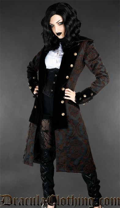Steampunk Pirate Princess Coat