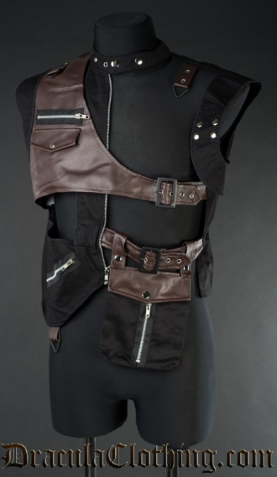 Steampunk Pocket Vest