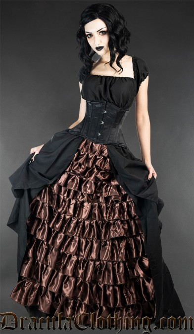 Steampunk Victorian Dress