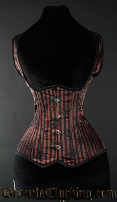 Striped Octopus Shoulder Corset