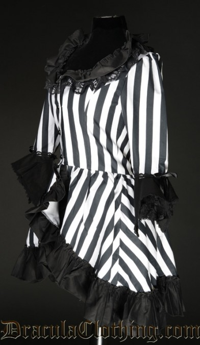 Striped Queen Dress