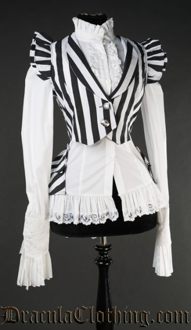 Striped Tailcoat Vest