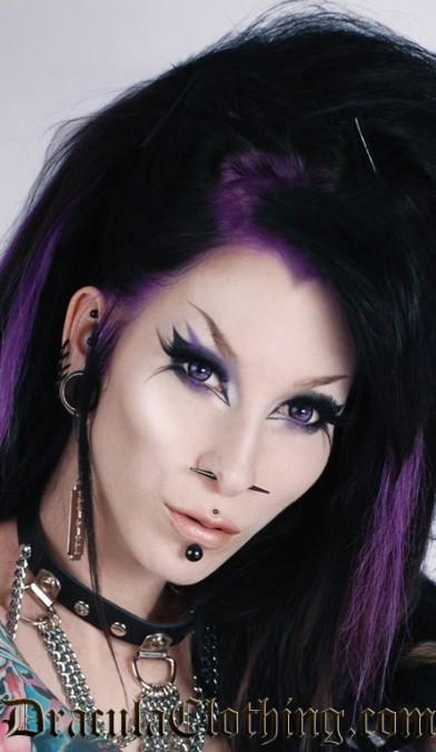 Big Eye Contact Lenses, Ultra Violet