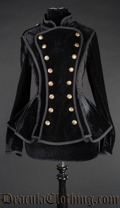 Neo Victorian Military Jacket