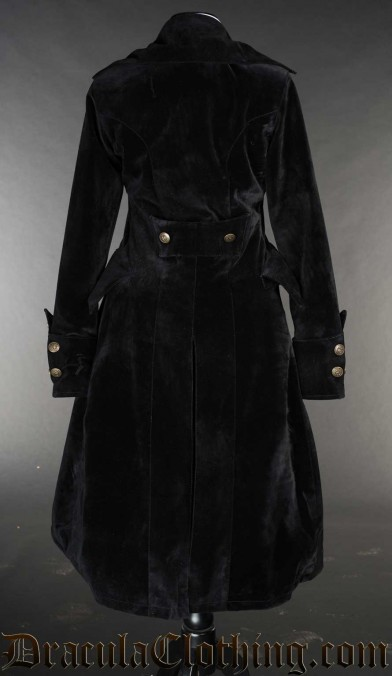 Velvet Pirate Princess Coat